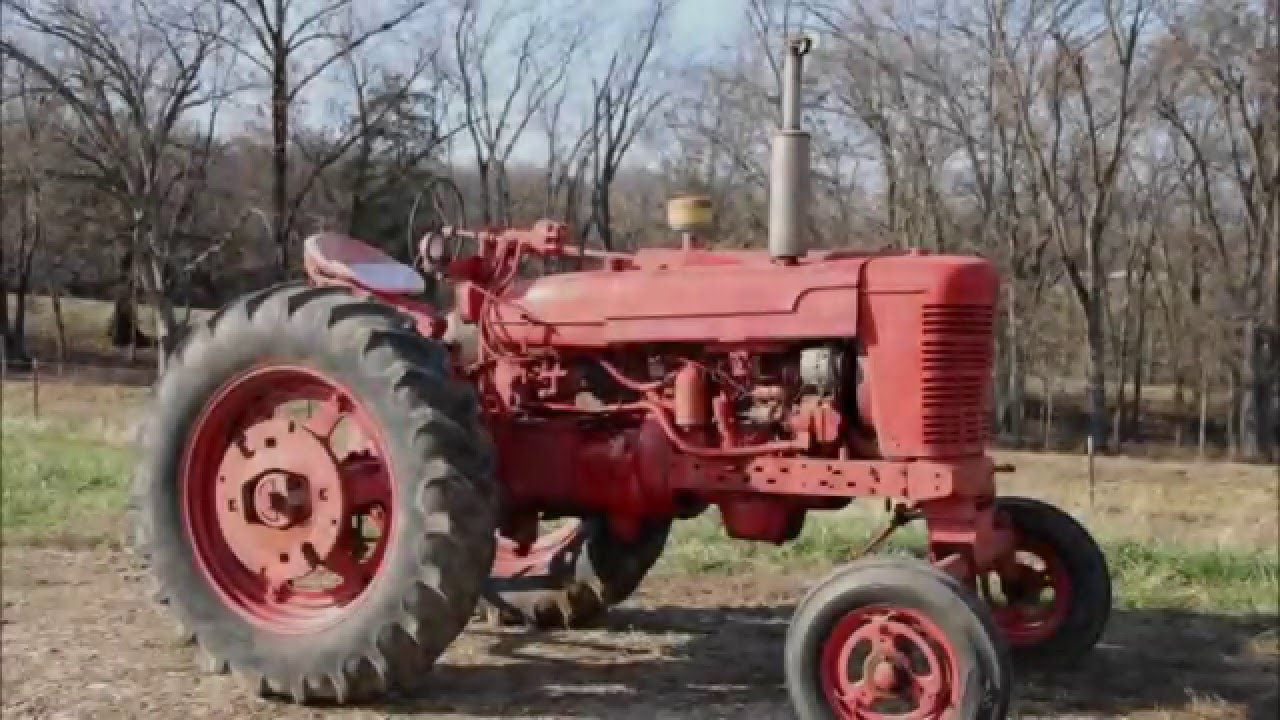1953    Farmall       Super    MD    Diesel    Tractor  YouTube