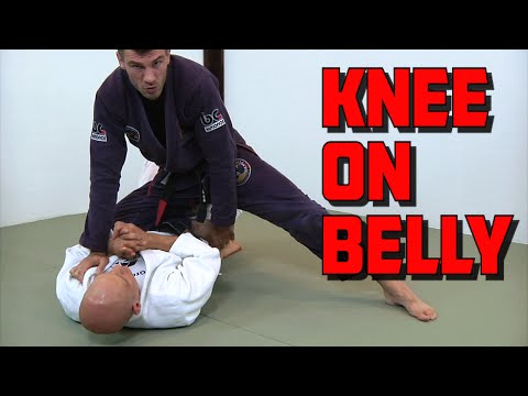 How to Use Knee On Belly to Force Movement