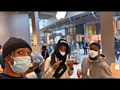 I WENT TO THE APPLE STORE TO TRY GET THE IPHONE 12 EARLY!! **we Got Lucky**