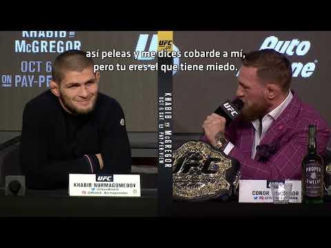 UFC 229 Khabib vs McGregor Conferencia de Prensa