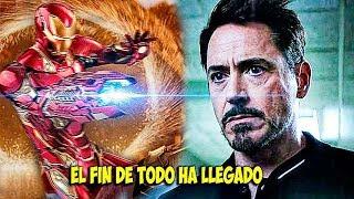 Se Revela que Tony Stark Sabia lo que Ocurría en el Futuro!!!! Y Se prepara para Thanos!INFINITYWAR