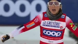 Лыжные Гонки Кубок Мира Гонка Преследования Классический Стиль Женщины 01 12 2019