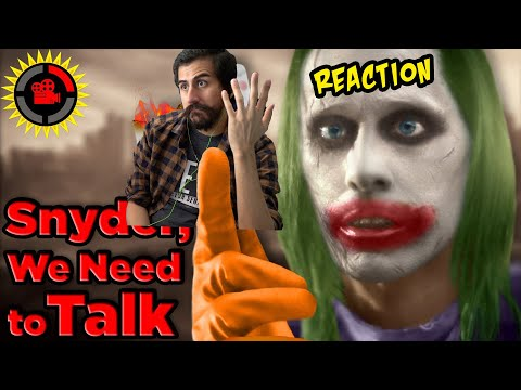Film Theory: Dear DC, I Fixed Your Universe! Reaction!