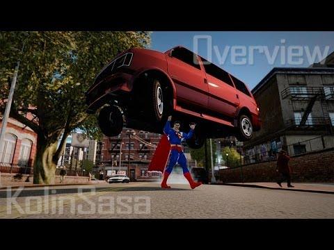 GTA 4/EFLC Superman Script