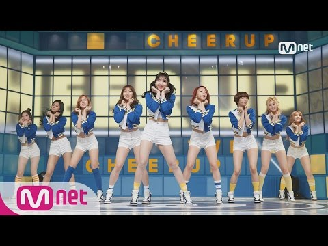 [TWICE - Cheer Up] Comeback Stage l M COUNTDOWN 160428 EP