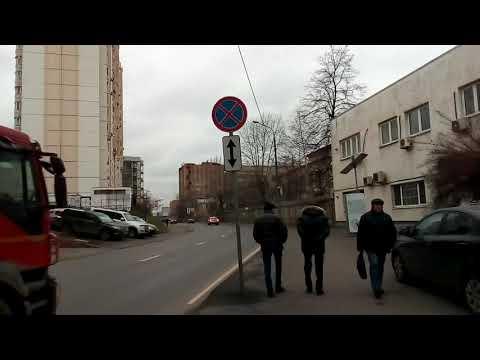 Москва 1327 Полковая улица осень день