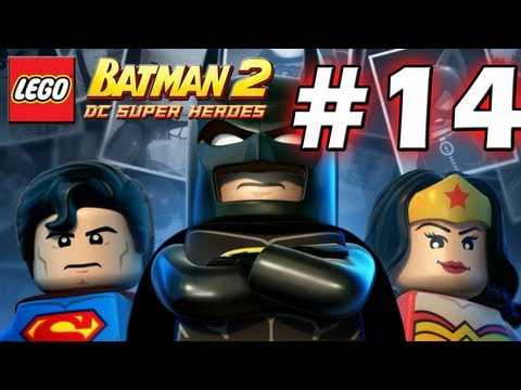 LEGO Batman 2 : DC Super Heroes Episode 14 - Down To Earth & Underground Retreat   (HD) (Gameplay)