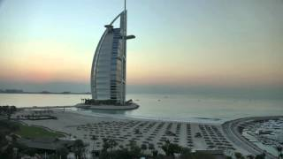 Burj Al Arab Sunset Time Lapse 4k FZ1000
