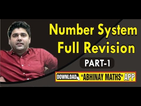 NUMBER SYSTEM PART 1 FULL REVISION FOR SSC CGL MAINS BY ABHINAY SHARMA