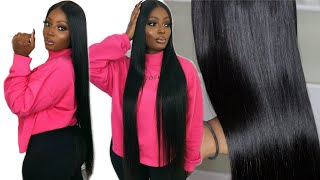 HOW TO GET SILKY BONE STRAIGHT HAIR | BEST SILKY STRAIGHT HAIR EVER ON ALIEXPRESS | ASTERIA HAIR