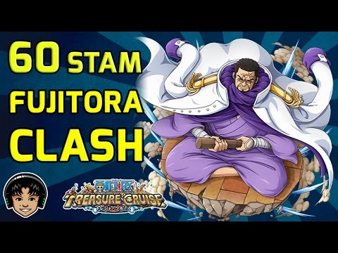 Walkthrough for Fujitora 60 Stamina Japan Raid [One Piece Treasure Cruise]
