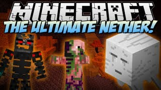 Minecraft | ULTIMATE NETHER! (Welcome to HELL!) | Mod Showcase [1.6.2] thumbnail