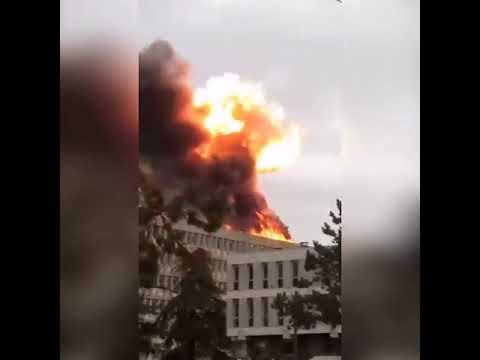 Во французском университете в городе Лион прогремел взрыв