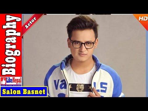 Salon Basnet - Nepali Actor Biography Video, Profile