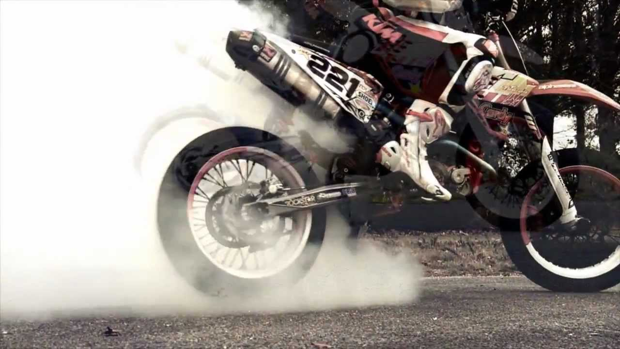 The quot ktm project 690 smc vs 450 exc supermotard youtube