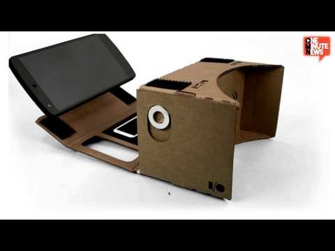 Google Makes Virtual Reality Out Of Cardboard And Your Android Smartphone