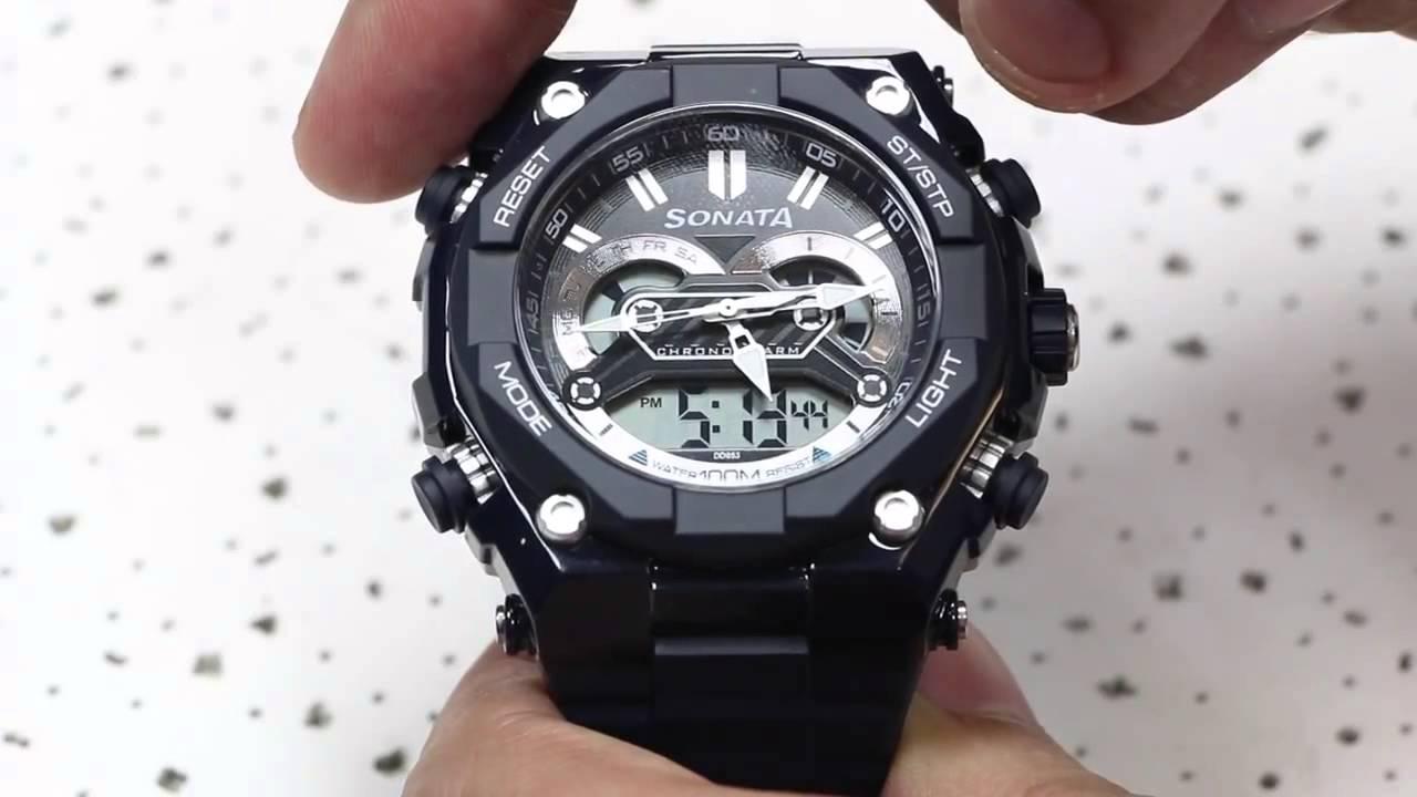 sonata super fiber ocean 3 watch review youtube rh youtube com  sonata superfibre digital watch user manual