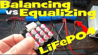 Active Cell Balancer vs Equalization. Why it does not work with LiFePO4 🔋⚡