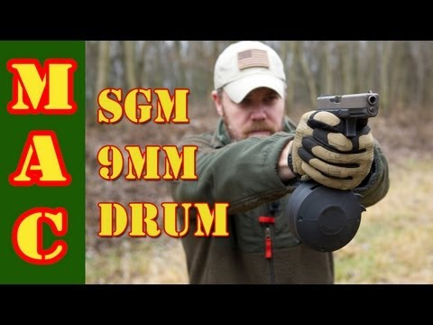 SGM Tactical Glock 9mm Drum