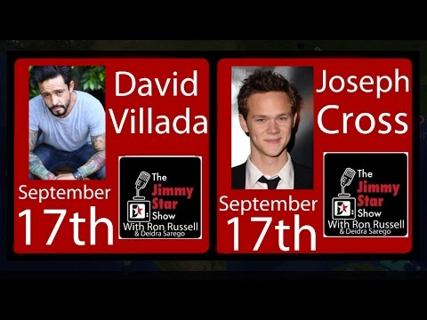 "Actors David Villada & Joseph Cross ""Lincoln"" 