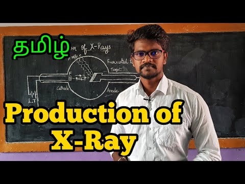 Production|x Ray|Coolidge|Physics 12|Tamil|MurugaMP