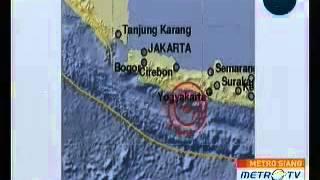 Gempa Bumi 6.5 SR Guncang Jogja Klaten Solo Kebumen Banyumas Cilacap - 25 Januari 2014 12:14 WIB