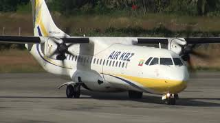AIR KBZ , ATR72-600 , XY-AMF , K7241, Thandwe (SNW) To Yangon(RGN)
