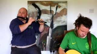 Brian Morgan (Flute) and Joe Doyle (Bouzouki) playing reels