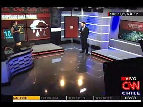 Así se vivió el sismo de este jueves en vivo en CNN Chile