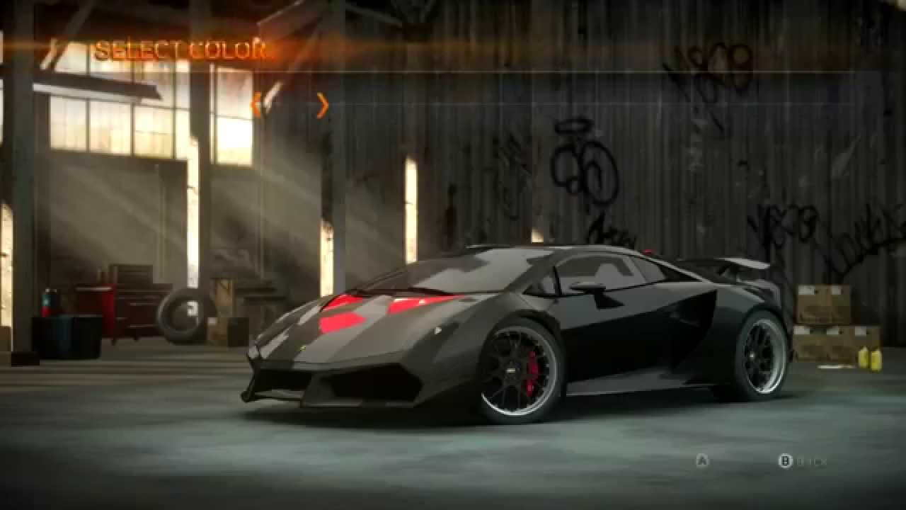 Nfs The Run Lamborghini Sesto Elemento Gameplay Youtube