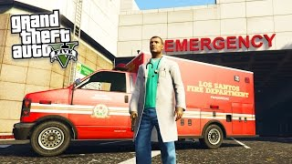 GTA 5 PC Mods - PLAY AS A PARAMEDIC MOD! GTA 5 Ambulance Missions Mod Gameplay (GTA 5 Mods Gameplay)