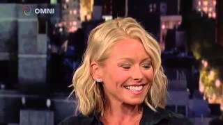 Kelly Ripa on Late Show With David Letterman April 2015 Full Interview
