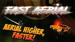 FAST AERIAL TUTORIAL - The BEST Rocket League Aerial Method!