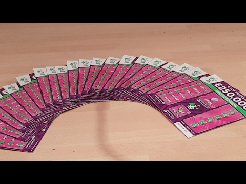 The New £250,000 ScratchCards Live