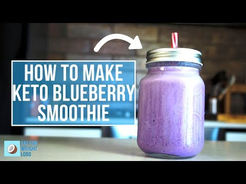 Keto Smoothie Recipes | Delicious Blueberry Smoothie