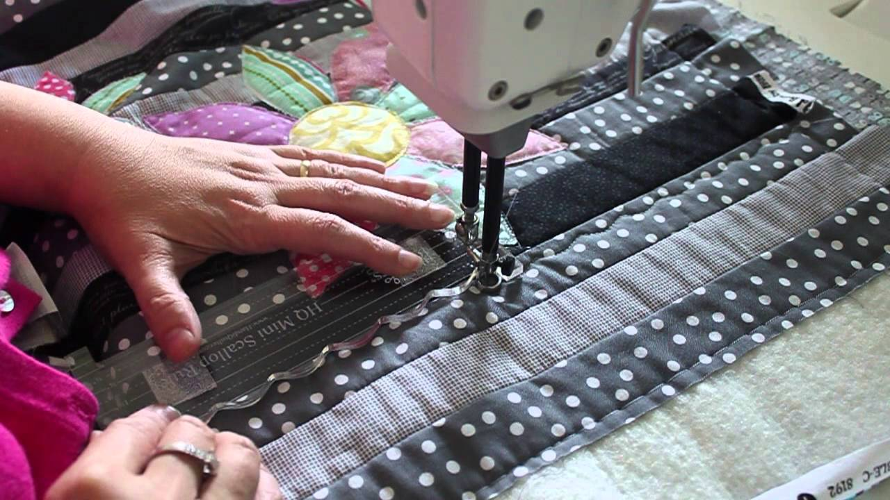 Hq Sweet Sixteen Sunday Part 3 Quilting With Rulers Youtube
