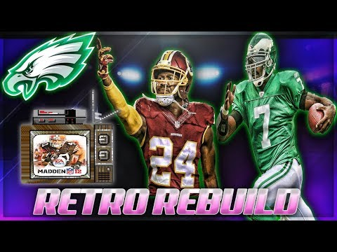 Rebuilding The 2011 Philadelphia Eagles | INSANE Vick + Drafting Josh Norman | Retro Madden Rebuild