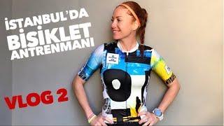 Fulya ǀ İstanbul'da Bisiklet Antrenmanı ǀ Antrenör Halil Emre ile 42km ǀ VLOG 2