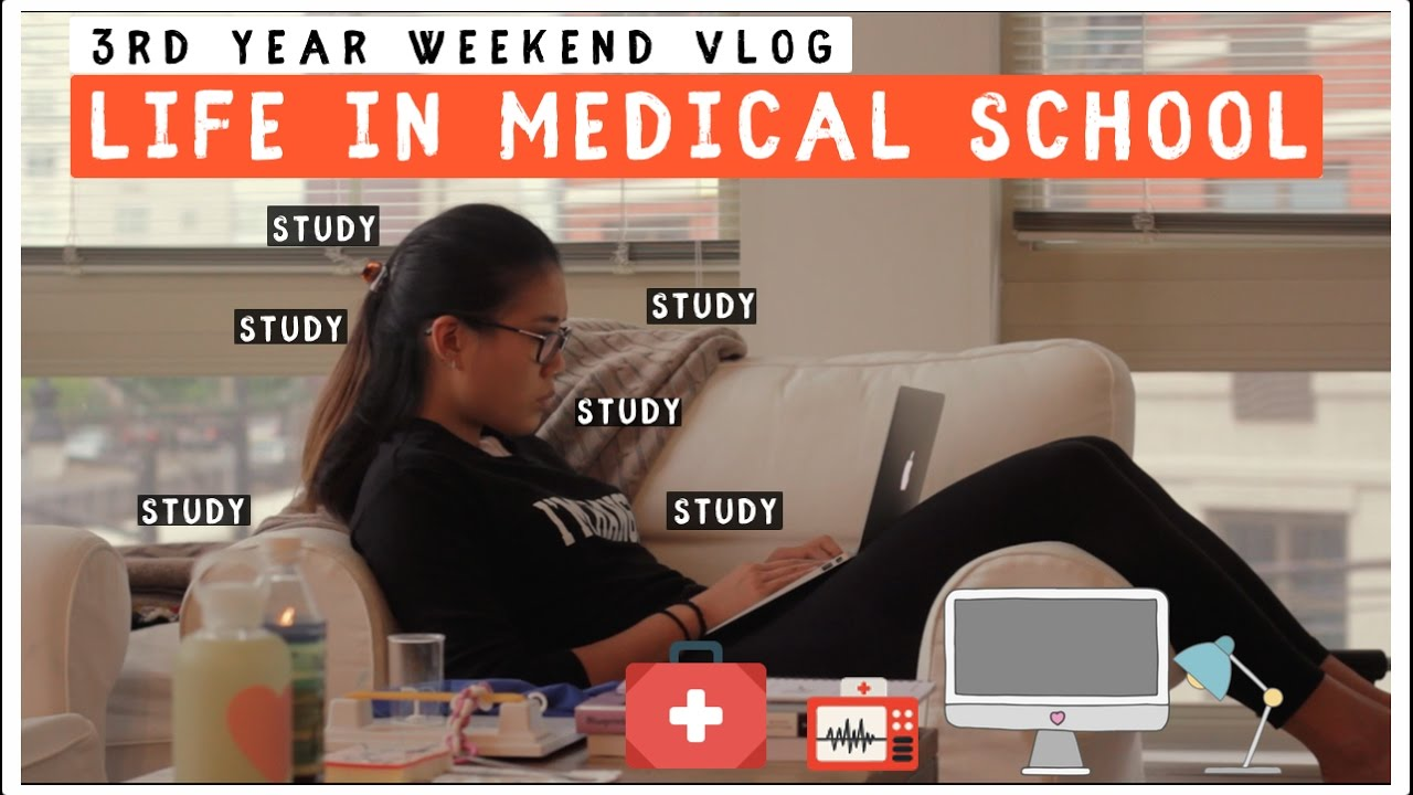 Studying in Medical School | Ob/Gyn Rotation | Grocery Haul + Spicy Ramen  Challenge!
