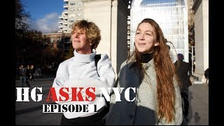 HG asks NYC - Episode 1   What role does art play in society?