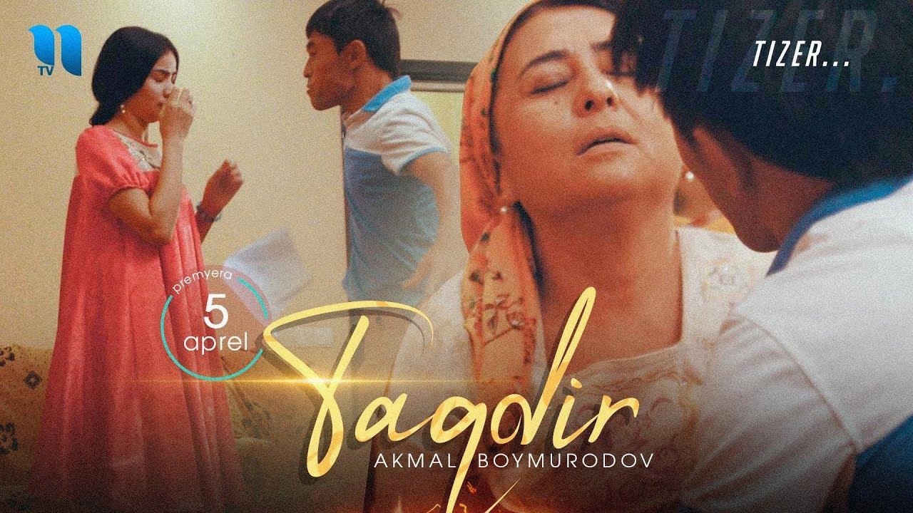 Akmal Boymurodov - Taqdir (tizer) | Акмал Боймуродов - Такдир (тизер) #UydaQoling