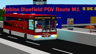 [4x] Roblox Bluefield Route M1 Front View Timelapsed