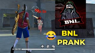 BNL Prank in Indian Server with Random Player 😂