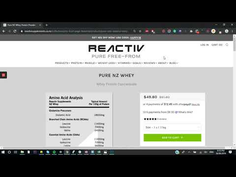 Reactiv Supplements: Shopify Store Review by Team PageFly thumbnail