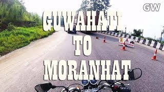 GUWAHATI TO MORANHAT on NH37 also called AT(ASSAM TRUNK) ROAD