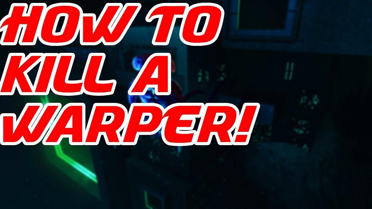 How To Kill a Warper In Subnautica - YouTube