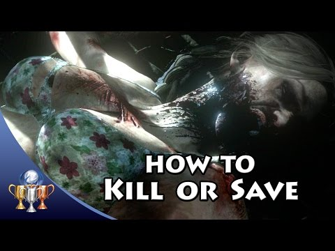 Until Dawn - How To Kill or Save Everyone...