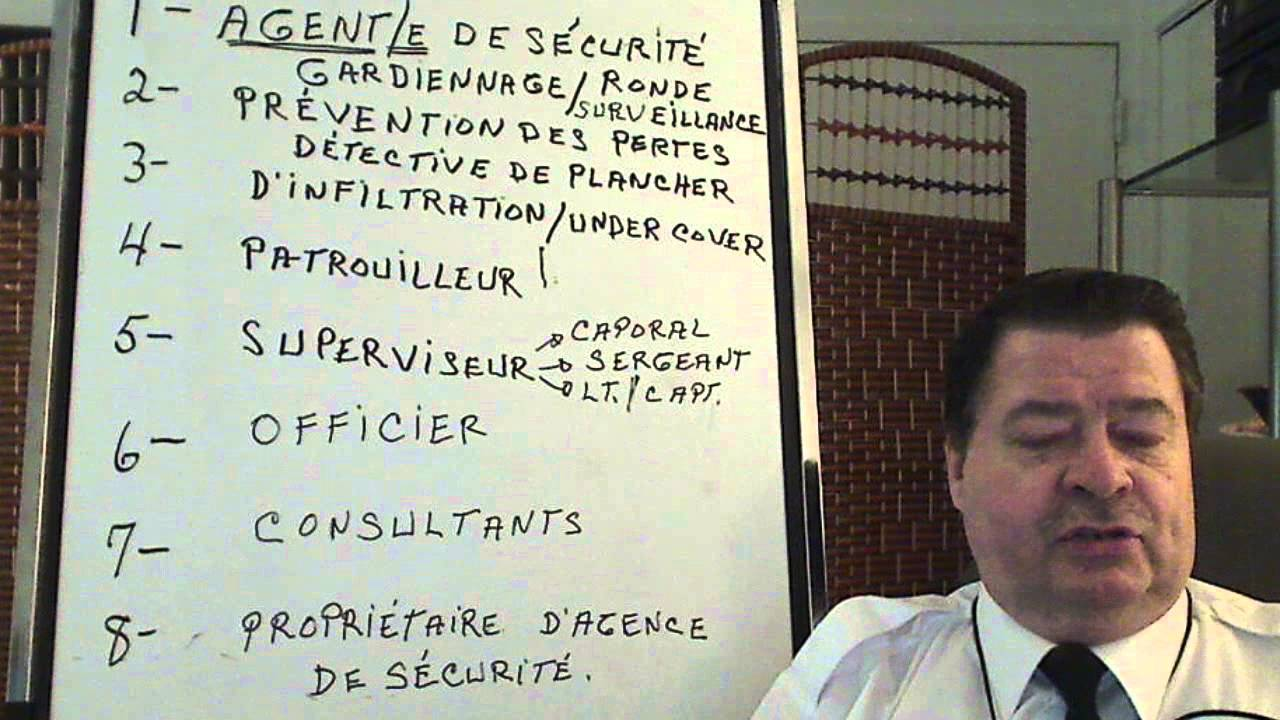 Bureau de la sécurité privée permis d agence: grand ménage dans les