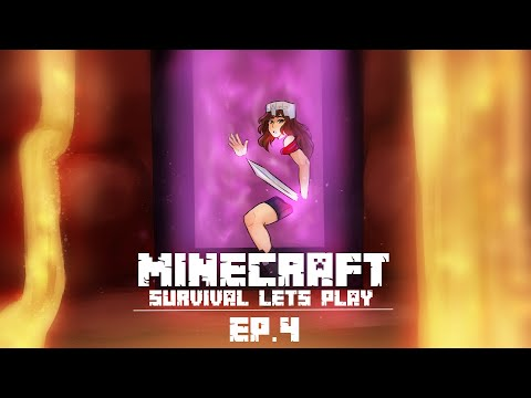 Minecraft Survival Let's Play: WITHER AWAY Ep 4