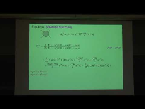 "Michael Green ""Some Modular Properties of String Scattering Amplitudes"""